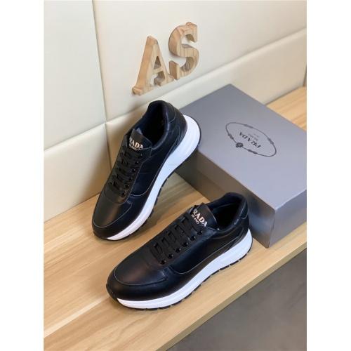 Prada Casual Shoes For Men #802677 $82.45 USD, Wholesale Replica Prada Casual Shoes