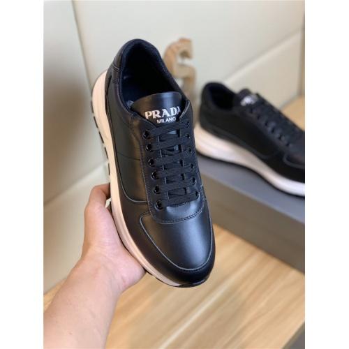 Replica Prada Casual Shoes For Men #802677 $82.45 USD for Wholesale