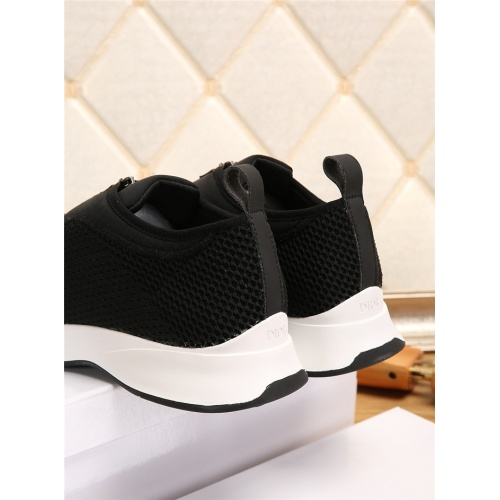 Replica Christian Dior Casual Shoes For Men #802705 $65.96 USD for Wholesale
