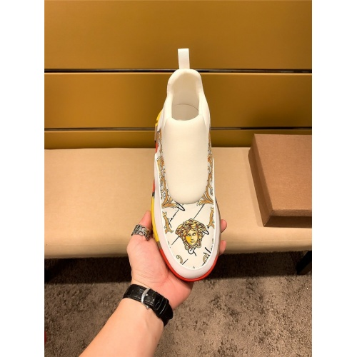 Replica Versace Casual Shoes For Men #802727 $65.96 USD for Wholesale