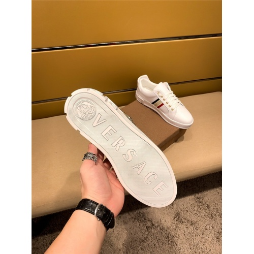 Replica Versace Casual Shoes For Men #802733 $69.84 USD for Wholesale