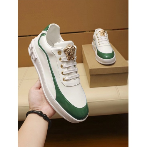 Replica Versace Casual Shoes For Men #802745 $69.84 USD for Wholesale