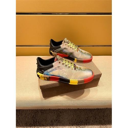 Versace Casual Shoes For Men #802756 $69.84 USD, Wholesale Replica Versace Casual Shoes