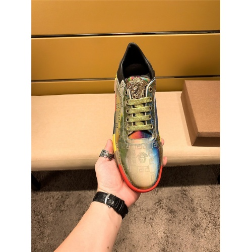 Replica Versace Casual Shoes For Men #802756 $69.84 USD for Wholesale