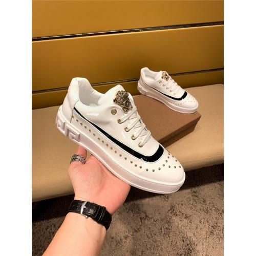 Versace Casual Shoes For Men #802757 $69.84 USD, Wholesale Replica Versace Casual Shoes