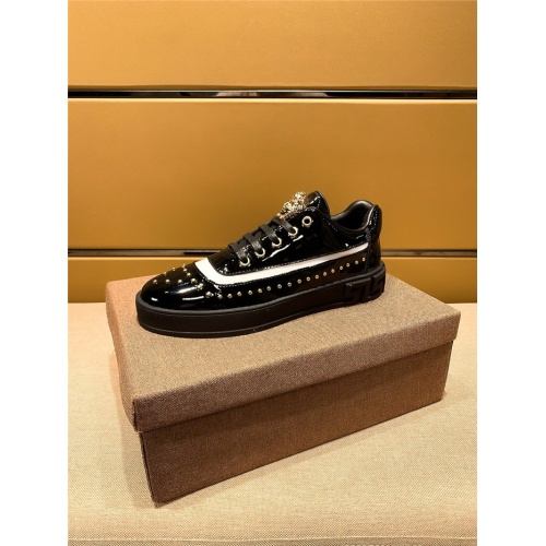 Replica Versace Casual Shoes For Men #802758 $69.84 USD for Wholesale