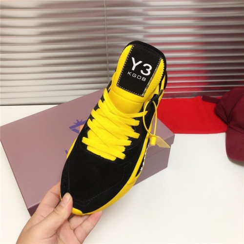 Replica Y-3 Casual Shoes For Men #802767 $89.24 USD for Wholesale