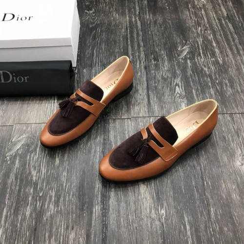 Christian Dior Leather Shoes For Men #802794