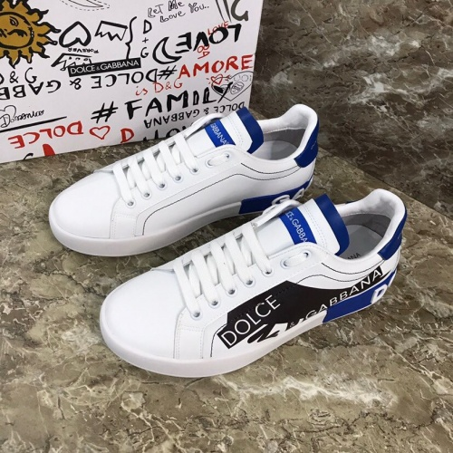 Dolce & Gabbana D&G Casual Shoes For Men #802798