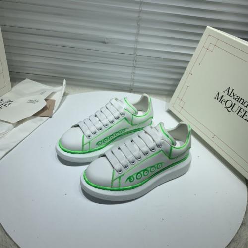 Alexander McQueen Casual Shoes For Women #802817