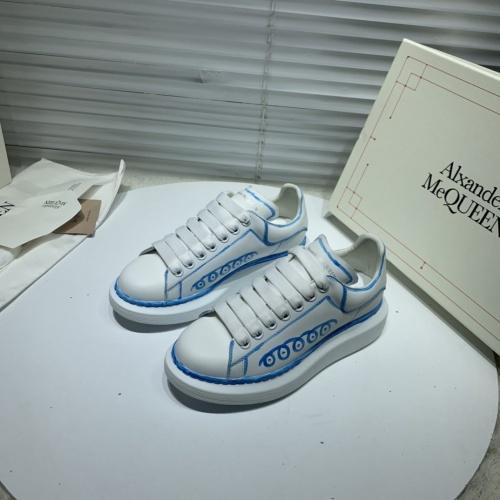Alexander McQueen Casual Shoes For Women #802819