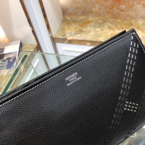 Replica Hermes AAA Man Wallets #802987 $78.57 USD for Wholesale