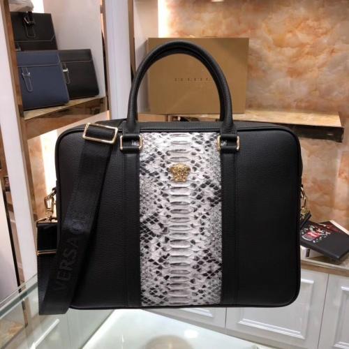 Versace AAA Man Handbags #803007