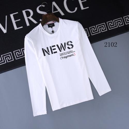Moncler T-Shirts Long Sleeved O-Neck For Men #803075
