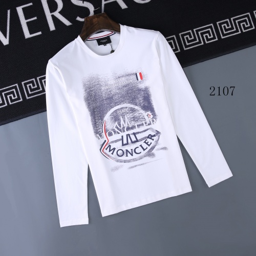 Moncler T-Shirts Long Sleeved O-Neck For Men #803076