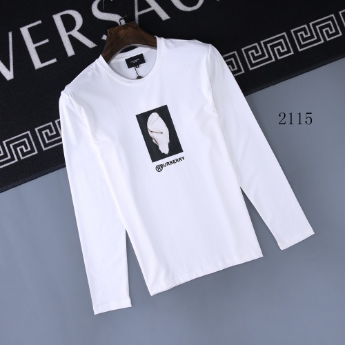 Burberry T-Shirts Long Sleeved O-Neck For Men #803084