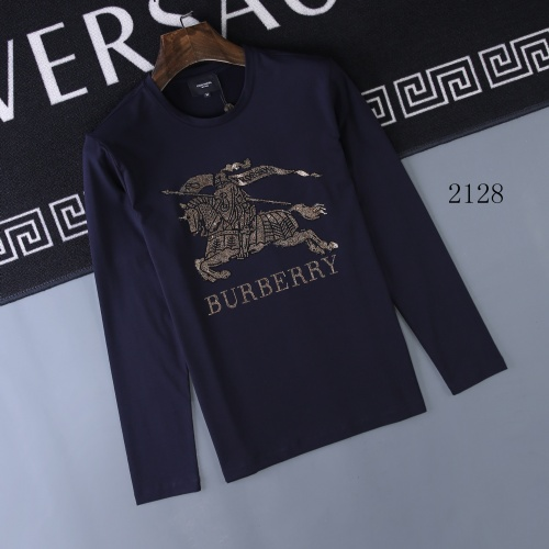Burberry T-Shirts Long Sleeved O-Neck For Men #803088