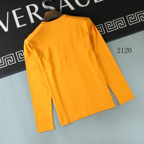 Replica Christian Dior T-Shirts Long Sleeved O-Neck For Men #803093 $32.98 USD for Wholesale
