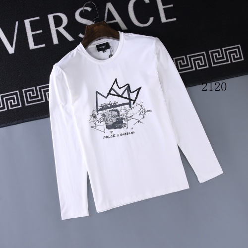 Christian Dior T-Shirts Long Sleeved O-Neck For Men #803095