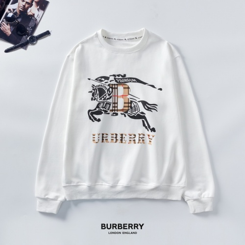 Burberry Hoodies Long Sleeved O-Neck For Men #803353