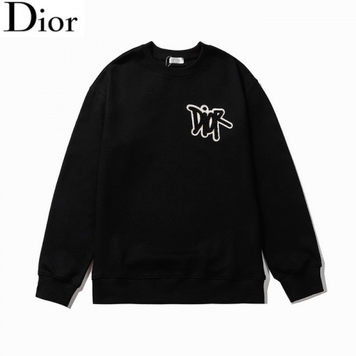 Christian Dior Hoodies Long Sleeved O-Neck For Men #803395