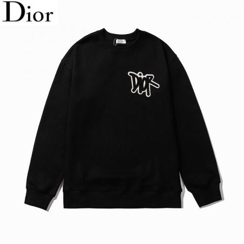Christian Dior Hoodies Long Sleeved O-Neck For Men #803395