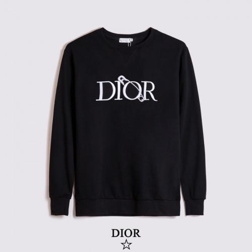 Christian Dior Hoodies Long Sleeved O-Neck For Men #803411