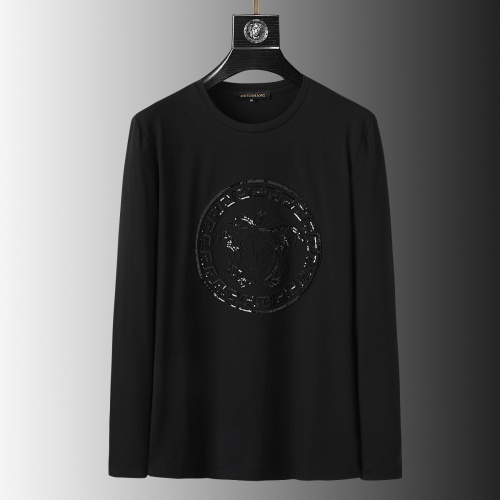 Versace T-Shirts Long Sleeved O-Neck For Men #803447