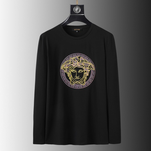 Versace T-Shirts Long Sleeved O-Neck For Men #803451