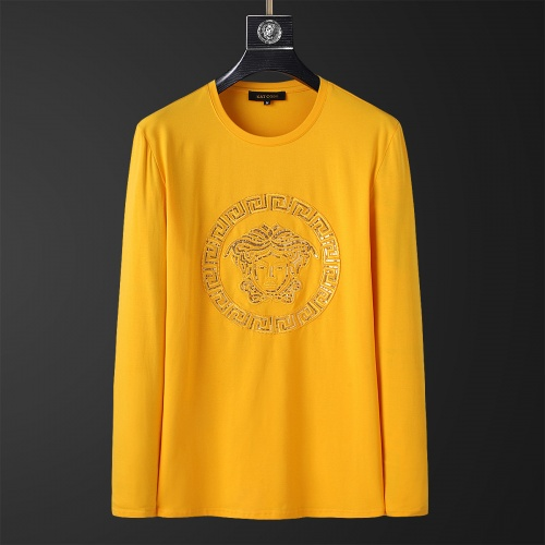 Versace T-Shirts Long Sleeved O-Neck For Men #803457