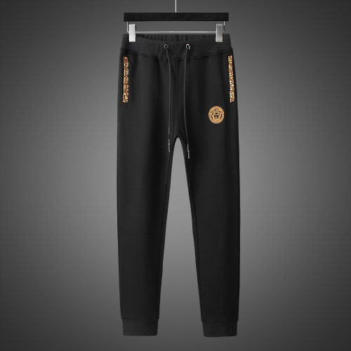 Replica Versace Tracksuits Long Sleeved Zipper For Men #803463 $82.45 USD for Wholesale