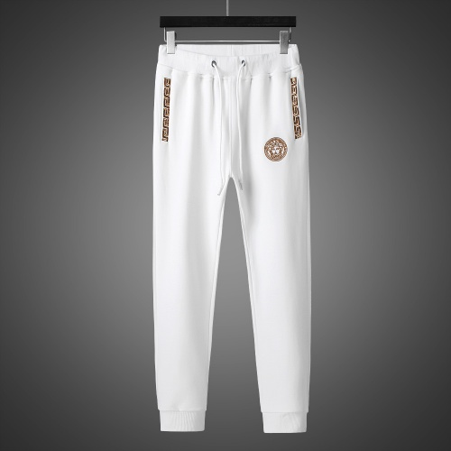 Replica Versace Tracksuits Long Sleeved Zipper For Men #803464 $82.45 USD for Wholesale