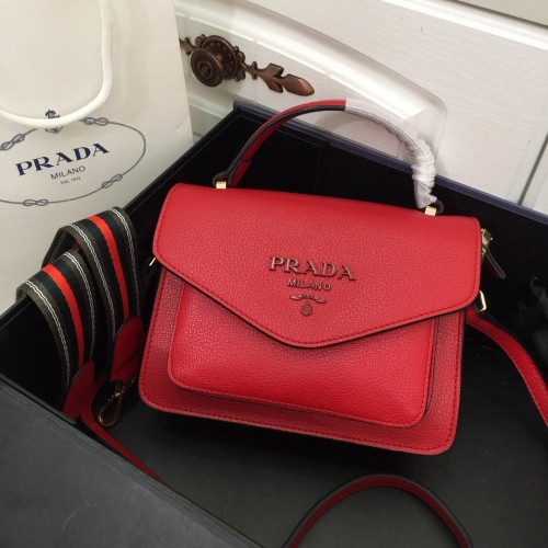 Prada AAA Quality Messeger Bags For Women #803567