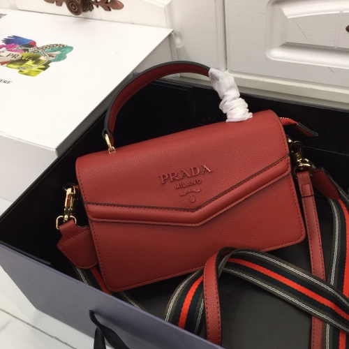 Prada AAA Quality Messeger Bags For Women #803590