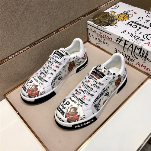 Dolce & Gabbana D&G Casual Shoes For Men #803632