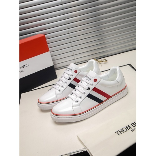 Thom Browne TB Casual Shoes For Men #803634 $73.72 USD, Wholesale Replica Thom Browne TB Casual Shoes
