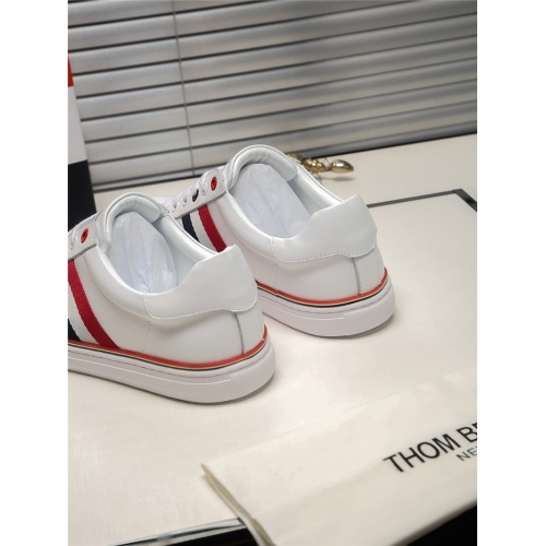 Replica Thom Browne TB Casual Shoes For Men #803634 $73.72 USD for Wholesale
