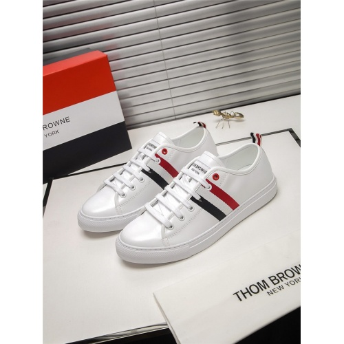 Thom Browne TB Casual Shoes For Men #803635 $73.72 USD, Wholesale Replica Thom Browne TB Casual Shoes