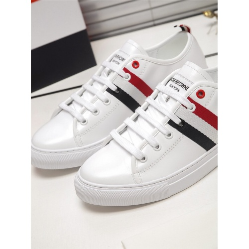 Replica Thom Browne TB Casual Shoes For Men #803635 $73.72 USD for Wholesale