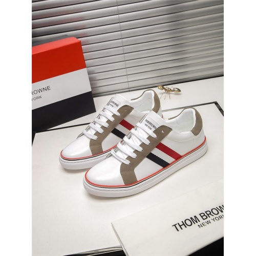Thom Browne TB Casual Shoes For Men #803636 $73.72 USD, Wholesale Replica Thom Browne TB Casual Shoes