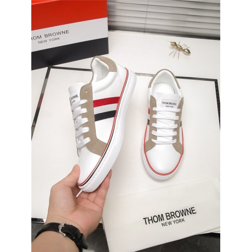 Replica Thom Browne TB Casual Shoes For Men #803636 $73.72 USD for Wholesale