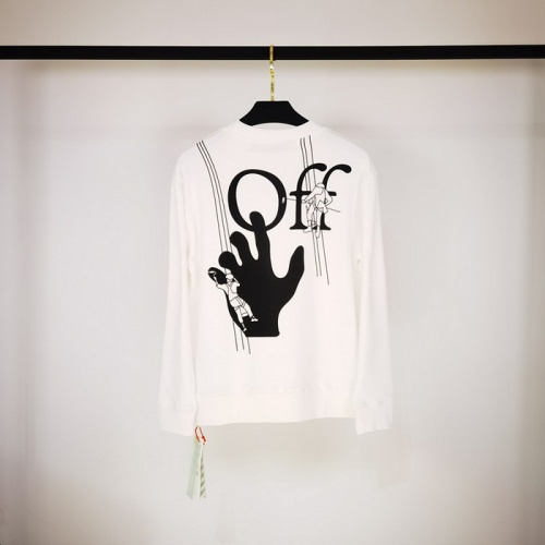 Off-White Hoodies Long Sleeved O-Neck For Men #803694