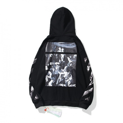 Off-White Hoodies Long Sleeved Hat For Men #803787 $58.20, Wholesale Replica Off-White Hoodies