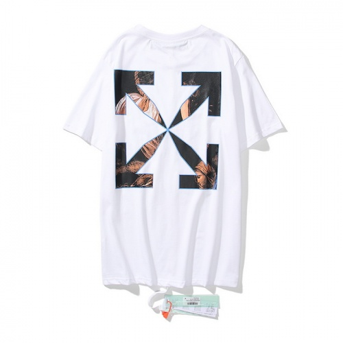 Off-White T-Shirts Short Sleeved O-Neck For Men #803814