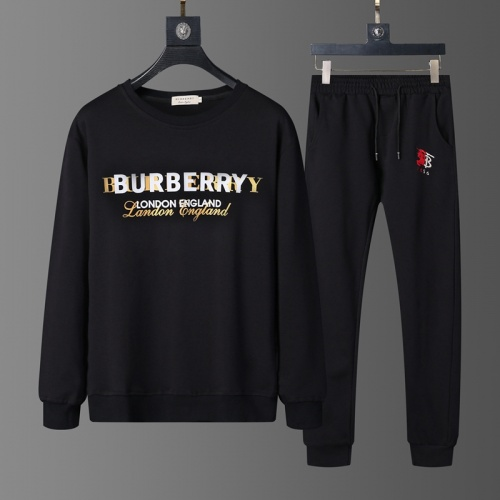 Burberry Tracksuits Long Sleeved O-Neck For Men #803817