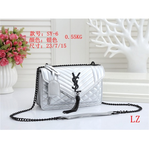 Yves Saint Laurent YSL Fashion Messenger Bags For Women #803866 $26.19 USD, Wholesale Replica Yves Saint Laurent YSL Fashion Messenger Bags