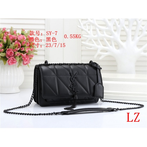 Yves Saint Laurent YSL Fashion Messenger Bags For Women #803871 $26.19 USD, Wholesale Replica Yves Saint Laurent YSL Fashion Messenger Bags