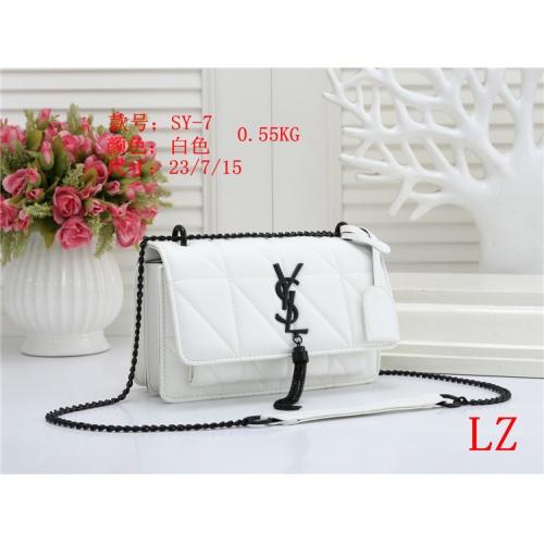 Yves Saint Laurent YSL Fashion Messenger Bags For Women #803874 $26.19 USD, Wholesale Replica Yves Saint Laurent YSL Fashion Messenger Bags