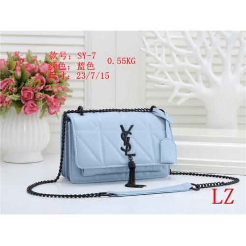 Yves Saint Laurent YSL Fashion Messenger Bags For Women #803876 $26.19 USD, Wholesale Replica Yves Saint Laurent YSL Fashion Messenger Bags