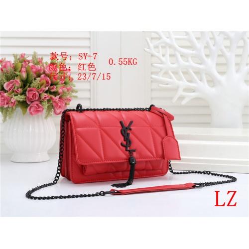 Yves Saint Laurent YSL Fashion Messenger Bags For Women #803880 $26.19 USD, Wholesale Replica Yves Saint Laurent YSL Fashion Messenger Bags